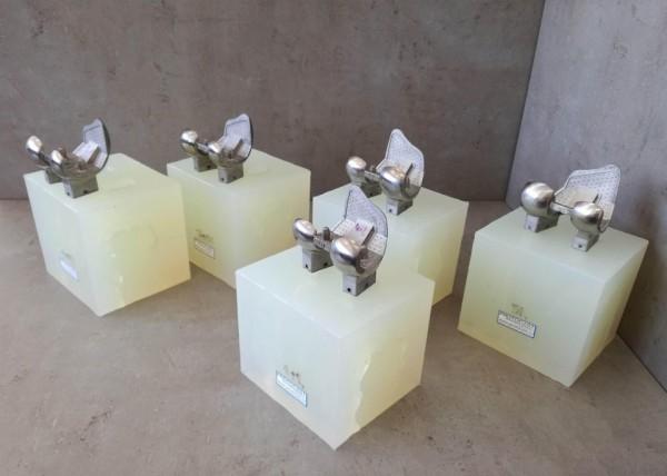 Master modely kloubů z 3D tiskárny kovu a silikonové formy