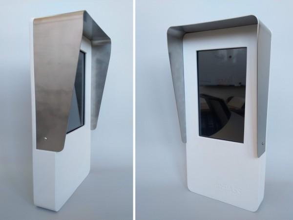 Dotykový panel do automyčky